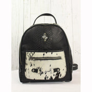 Mini Backpack - Black Embossed