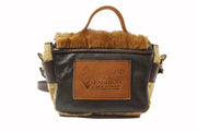 Mini Saddle Bag - Fur Brown