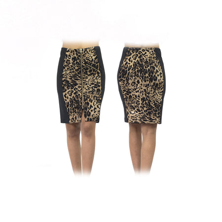 Women's Leopard Standard Golf Skirt