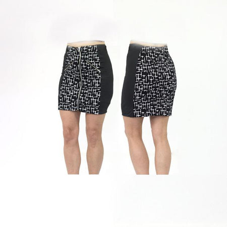 Women's Crosses Black Standard Golf Skirt