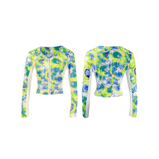 Women's Tie-Dye Golf Jacket
