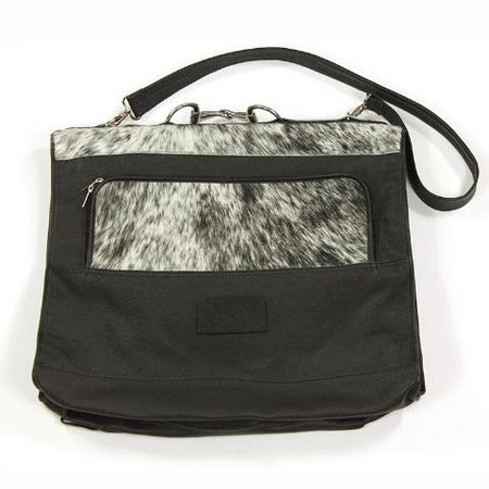 Suit Bag - Black and White