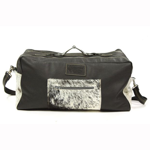 Weekender Bag - Black and White