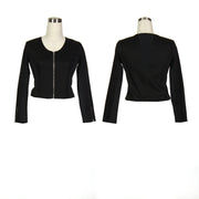 Women's Black and Black Golf Jacket