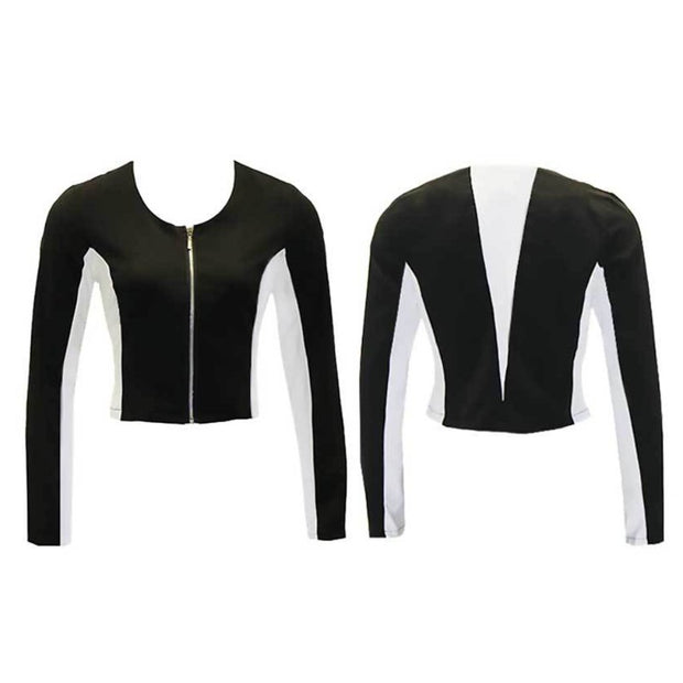 Women's Black/White Golf Jacket