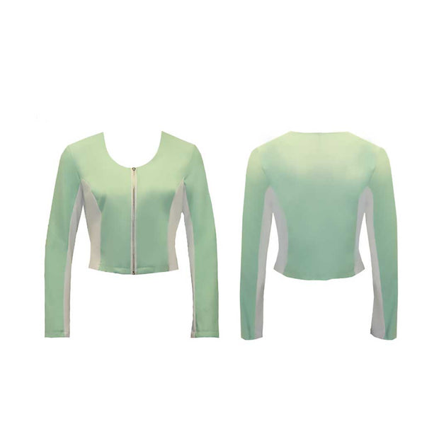 Women's Mint Golf Jacket