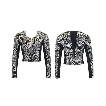 Women's Zebra Golf Jacket