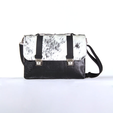 Standard Briefcase - Black and White
