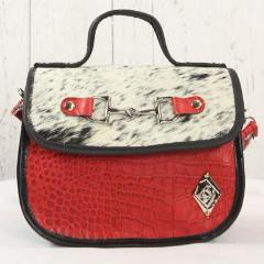 Mini Saddle Bag - Red