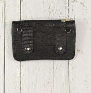 Belt-Crossbody-Phone Pouch -Royal Blue and Black