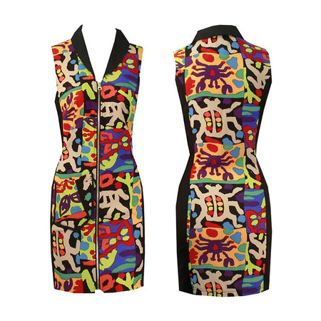 Women's Zany Golf Sleeveless Dress
