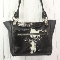 Tote - Black Large Flap
