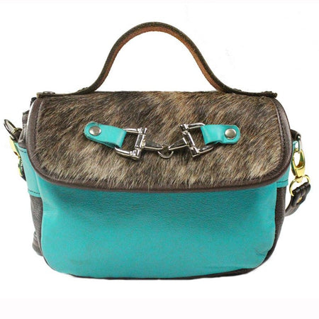 Mini Saddle Bag - Turquoise