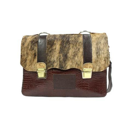 Accent Briefcase - Brown