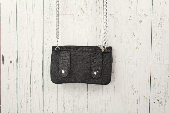 Belt-Crossbody-Phone Pouch - All Black