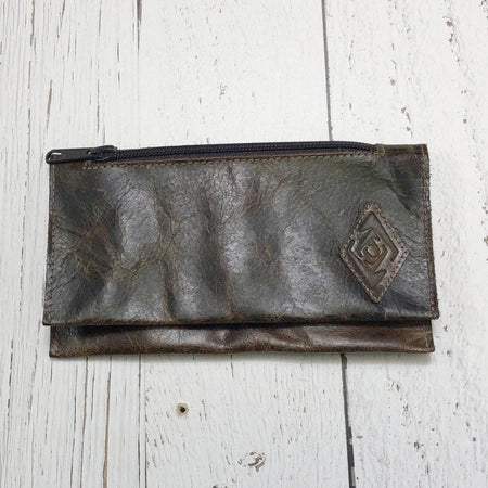 Belt Phone Pouch - Brown Leather Mens