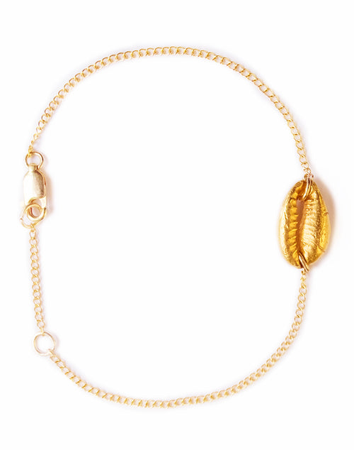 POWER OF NOW | COWRIE BRACELET