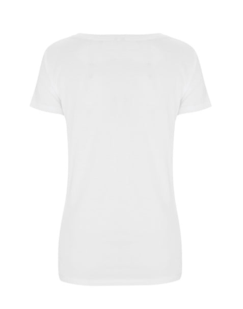 wyld woman logo tee organic cotton back