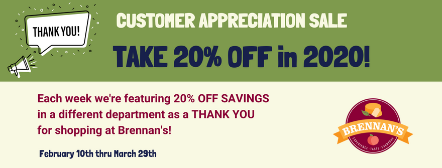 Take 20% Off In 2020 Promotion!