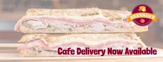 Cafe Delivery Now Available