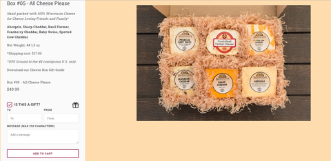 Brennan's Classic Cheese Boxes