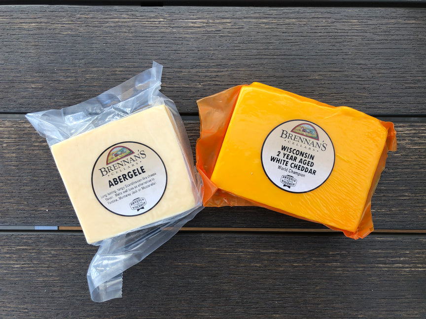 Wisconsin Cheese Gift Boxes -1-2 Items - Brennans Market