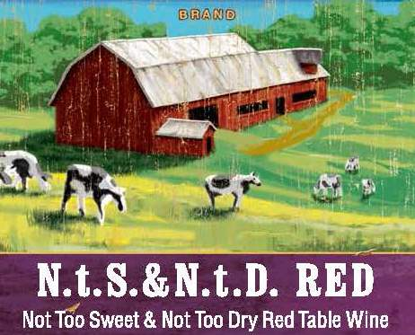 Brennan's Cellars N.T.S & N.T.D Red