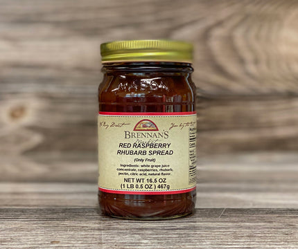 Raspberry-Rhubarb Spreadable Fruit - Brennans Market