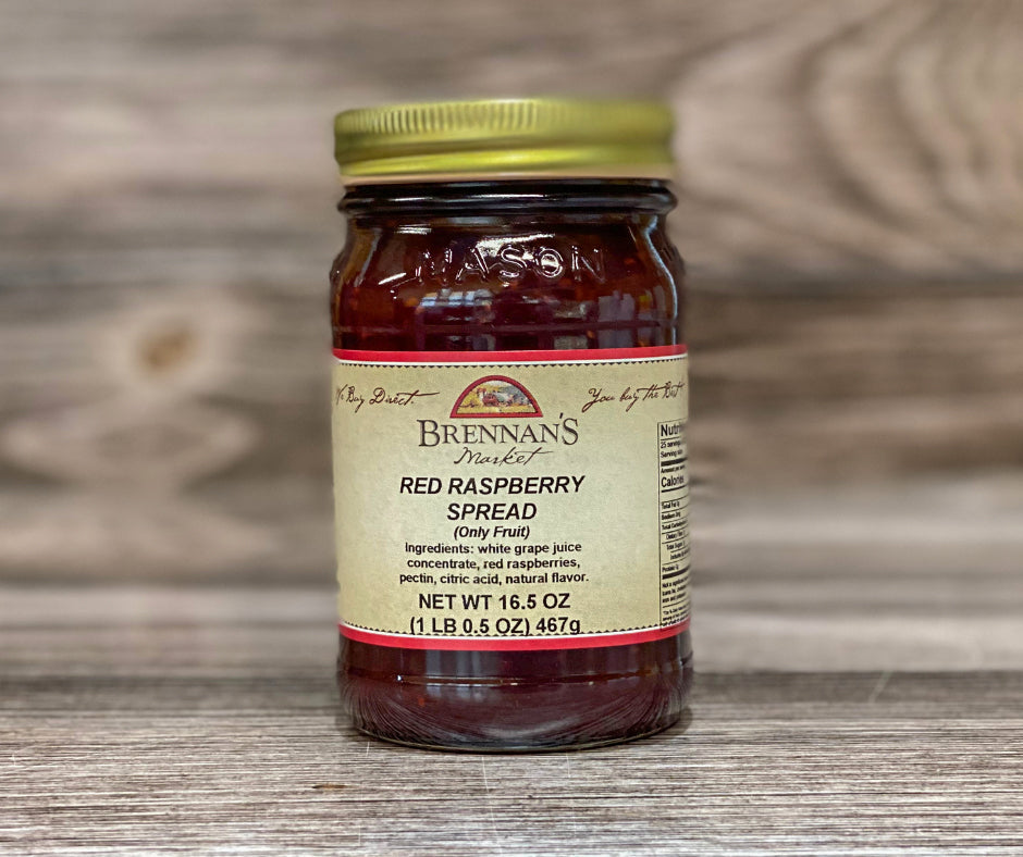 Red Raspberry Spreadable Fruit - Brennans Market