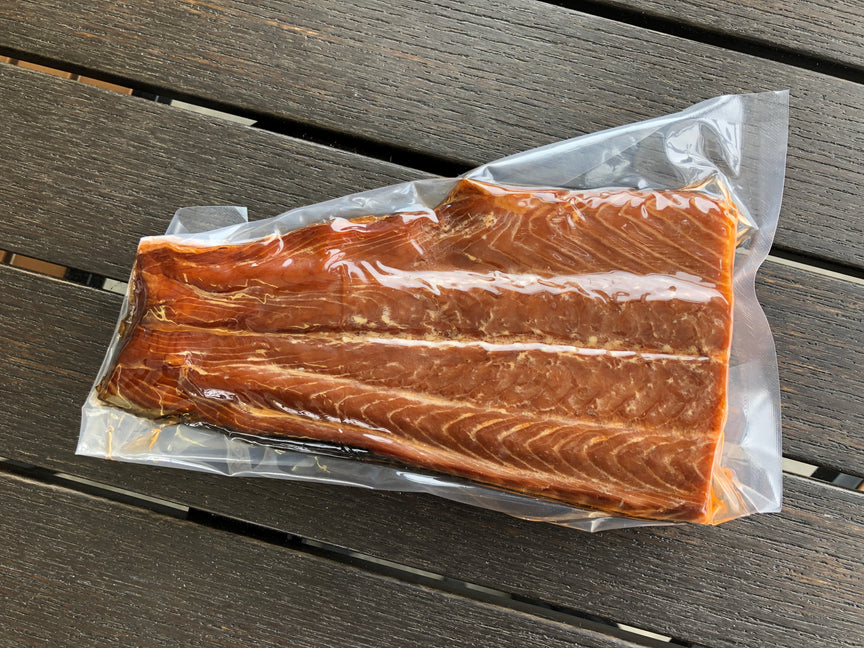 Silver Moon Springs Smoked Salmon