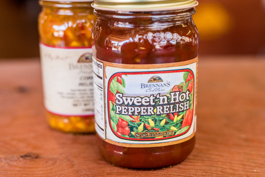 Sweet & Hot Pepper Relish - Brennans Market