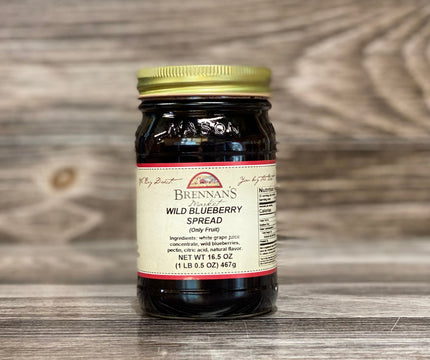 Wild Blueberry Spreadable Fruit - Brennans Market