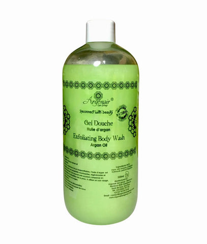 Natural Body Wash with Argan & Green Tea