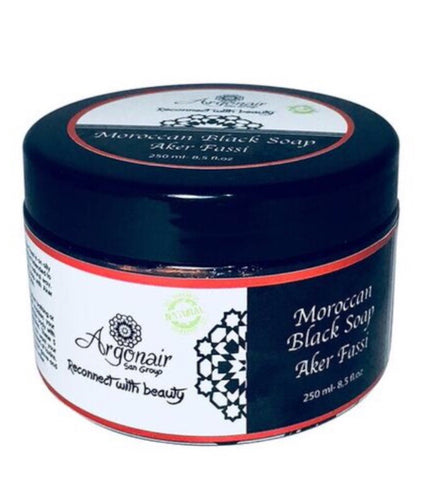 Moroccan Black Soap with Aker Fasi