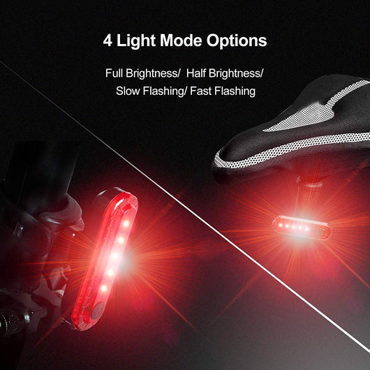Tail Light USB Rechargeable with 4 Light Modes