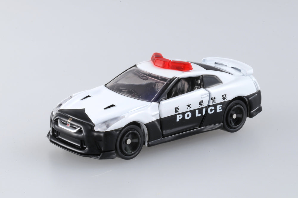 Tomica - Nissan GTR Police Car Die Cast Scale Model No.105