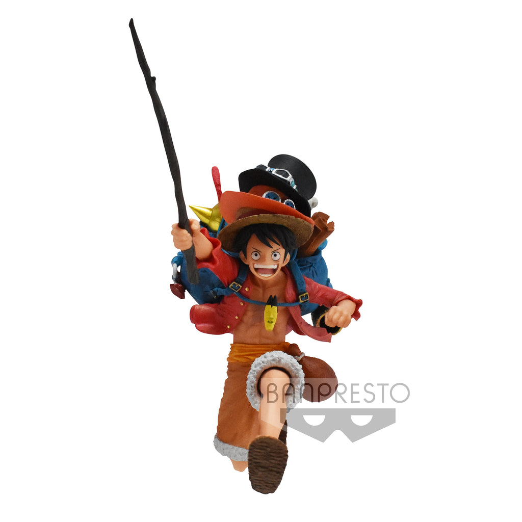 One Piece - Three Brothers Figure - A: Monkey D Luffy