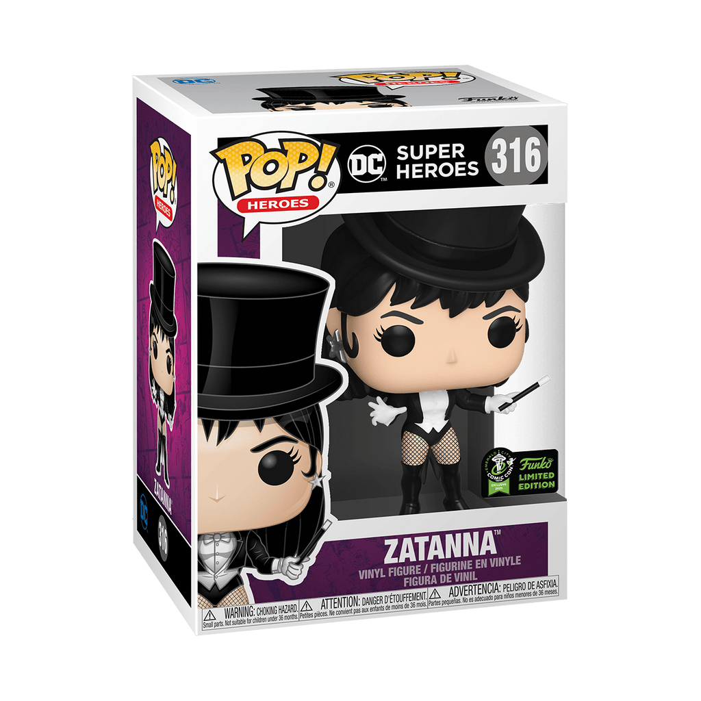 Funko Pop DC Zatanna Emerald City Comic Con Exclusives #316
