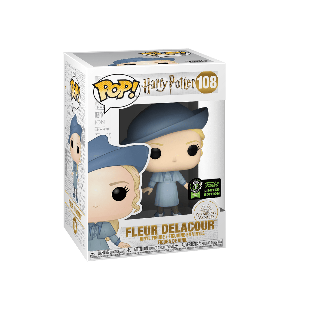 Funko Pop Emerald Comic Con Exclusive - Harry Potter - Fleur Delacour #108