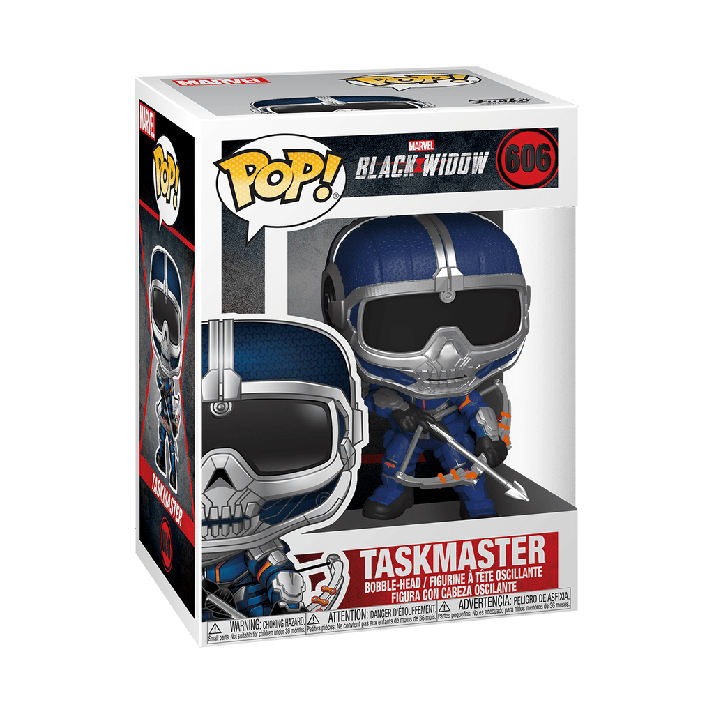 Funko Pop Marvel Black Widow - Taskmaster with Bow #606