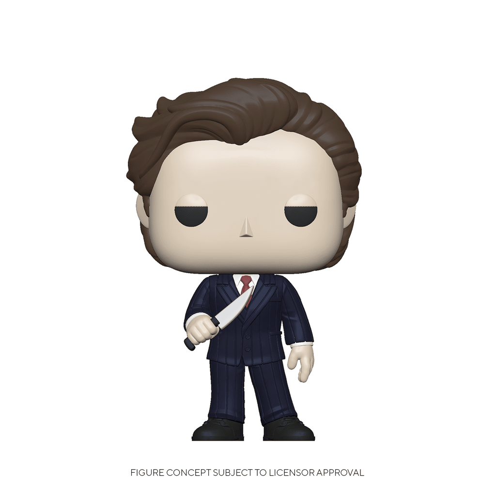 Funko Pop American Psycho - Patrick in suit w/Knife