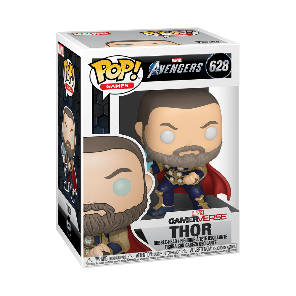 Funko POP Marvel: Avengers Game - Thor (Stark Tech Suit) #628