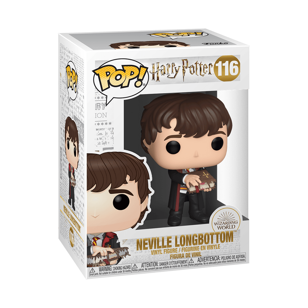 Funko Pop Harry Potter - Neville w/Monster Book #116