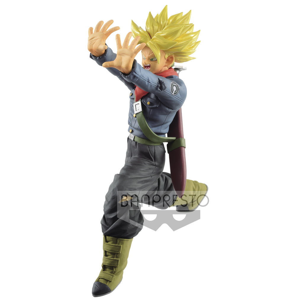 Dragon Ball Super: Galick Gun Statue: Super Saiyan Trunks Future
