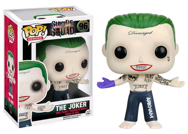 Suicide Squad - Joker Shirtless Pop! Vinyl