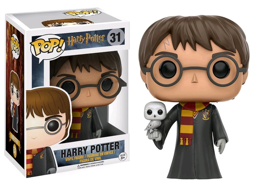 Harry Potter with Hedwig - Pop Movie - Harry Potter #31