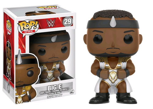WWE - Big E Gold & White Pop! Vinyl