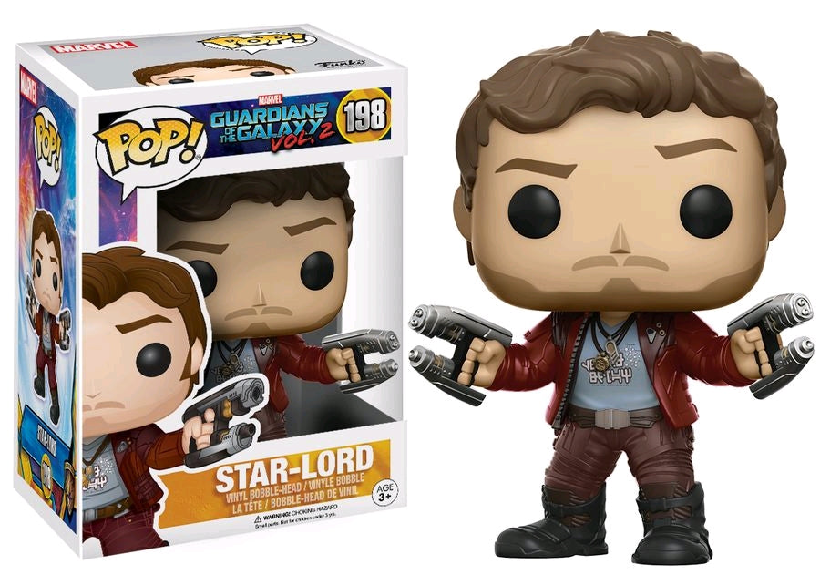 Star-Lord - Guardians of the Galaxy: Vol. 2 Funo Pop #198