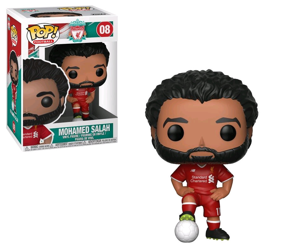 Funko Pop Football: Liverpool EPL - Mohamed Salah #08
