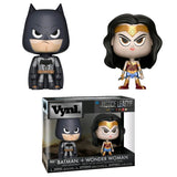 DC Comics - Wonder Woman & Batman VYNL 2 Figure set